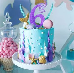 Bolos Interior Design how much does an interior designer cost Little Mermaid Cakes, Mermaid Birthday Cakes, Birthday Cake Girls, Birthday Parties, Sirenita Cake, Sea Cakes, Girl Cakes, Themed Cakes, Party Cakes