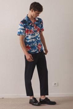 16b8a7019df3 Sandro Spring 2018 Menswear Collection Photos - Vogue Men Fashion Photo,  Big Men Fashion,
