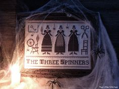 The Three Spinners - PDF Digital Cross Stitch Pattern by The Little Stitcher