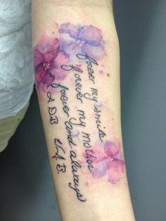 """Результат пошуку зображень за запитом """"pansy watercolor tattoo"""""""