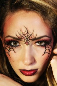 Spider web eyes