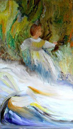 Charlotte , encore une fois un tableau inspiré d'un Renoir