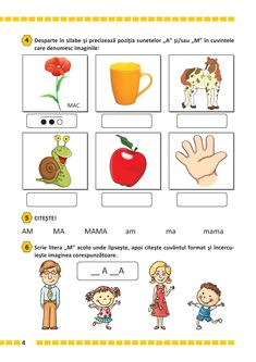 Activities For Kids, Crafts For Kids, Kids Education, Baby Love, Worksheets, Preschool, Projects To Try, Teaching, Words