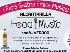 I Feria Gastronómica Musical Food and Music en #Alcantarilla