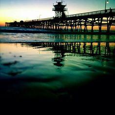 8.) Pier Party (The San Clemente Pier)