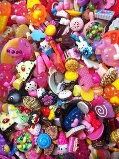 Find kawaii cabochons on etsy, eBay or other sights and get creative and individual!