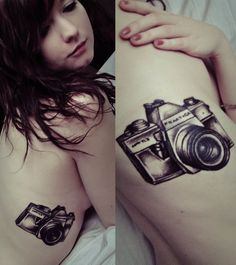 Interesting #camera #tattoo But I want this on my back!