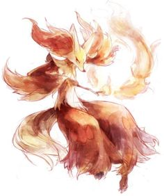 Delphox by Nem_neM Nintendo Pokemon, Pokemon Comics, All Pokemon, Pokemon Fan Art, Cute Pokemon, Ghost Type, Pokemon Starters, Pokemon Gijinka, Otaku