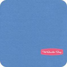 Riley Blake Designs Ocean Blue Solid Yardage SKU# C100-36 - Fat Quarter Shop