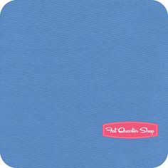 Riley Blake Designs Ocean Blue Solid Yardage SKU# C100-36 - Fat Quarter Shop