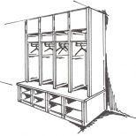 Mudroom op maat te bestellen bij Lundia Decor, Mudroom, Furniture, Wardrobe Rack, Home Decor