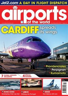 Buy subscriptions and issues of Airports of the World  - November-December 2017 . Available on Desktop PC or Mac and iOS or Android mobile devices. Aviation Magazine, Air Traffic Control, Kumamoto, Climate Change, Behind The Scenes, Real Life, Innovation, Airports, Activities