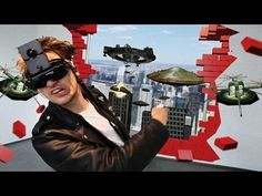 """""""Crazy German"""" shows the first Prototype of a TOTAL augmented reality gaming console. Find us on http://www.total-ar.com and follow us on fa..."""