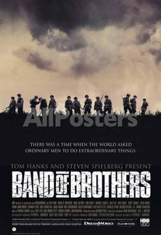 Band of Brothers Movies Masterprint - 28 x 43 cm