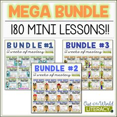 Perfect for grades 2-6, there are 5 mini lessons for every comprehension skill.  Each lesson is attached to a CCSS and NEW TEKS standard for every grade level.  The lessons include whole group instruction, differentiation for small groups, graphic organizers, assessments, and so much more!