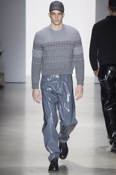 See the menswear Calvin Klein Collection autumn/winter 2015 collection