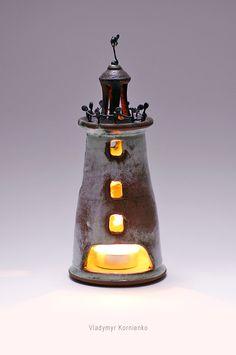 pottery ceramics lighthouse