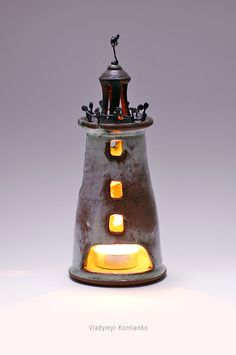 pottery ceramics lighthouse