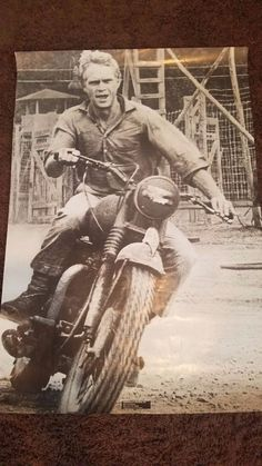"""Original 1960's Steve Mcqueen The Great Escape Movie Poster FOR SALE • $35.00 • See Photos! Money Back Guarantee. Attention Steve Mcqueen fans!!!Here we have an original 1960's poster of Steve Mcqueen from the movie """"The Great Escape""""Made of vintage Stock Paper (Not the cheap thin poster paper of 201997035602"""