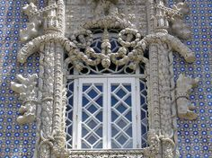 Pena Palace window #Portugal