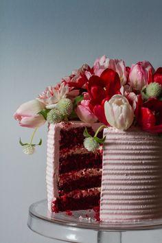 Bride - red velvet cake tradicional