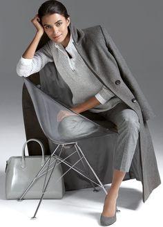 Madeleine Grey Coat