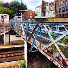 #UpperHolloway #train #Station #Archway love the #rusty #old #bridge Get the #Kooky #London #App http://bit.ly/11XgicP #ig_London #igLondon #London_only #UK #England #English #GreatBritain #British #iPhone #quirky #photoftheday #photography #picoftheday #igerslondon #lovelondon #timeoutlondon #instalondon #londonslovinit #mylondon #Padgram