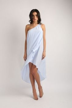 BONNELL SKY BLUE DRESS from Jay Godfrey