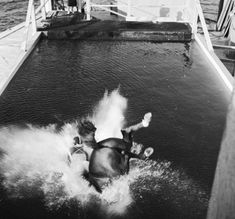 The Diving Horse of Atlantic City