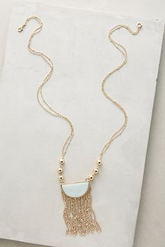 Moondance Fringe Necklace #anthropologie