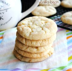 Vanilla Bean Snickerdoodles
