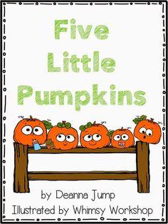 Five Little Pumpkins FREEBIE