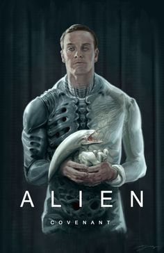 Poster alien covenant fan art by hyoung nam -watch free latest movies online on Alien Vs Predator, Predator Alien, Arte Alien, Alien Art, Alien Covenant, The Covenant, Scary Movies, Good Movies, Science Fiction