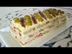 Pastel fácil de atún con pan de molde - Anna Recetas Fáciles