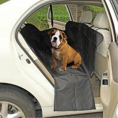 Amazon.com : Dog Car Seat Cover - Sanzang [Pet Car Seat Cover] Waterproof Dog Hammock, Dog Car Seat Protector Mat Black : Pet Supplies