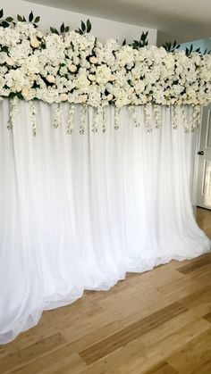 Silk Floral Backdrop This beautiful backdrop is perfect for weddings, bridal showers, and baby showers. Rustic Wedding Backdrops, Wedding Reception Backdrop, Wedding Stage Decorations, Engagement Decorations, Backdrop Decorations, Bridal Shower Decorations, Wedding Centerpieces, Bridal Shower Backdrop, Backdrop Ideas