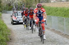 Gallery: Tour of Flanders preparations - Thor Hushovd sets the pace for BMC