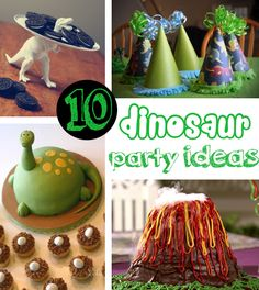 Dinosaur Party Ideas- sooo cute!