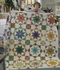 Eldon by Edyta Sitar.  Love this quilt!  Must make for myself!