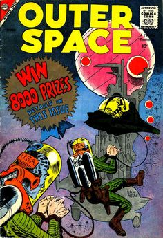 vintage outer space comic book - Google Search