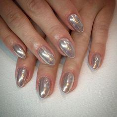 Nowy HIT - lustrzane paznokcie - 13
