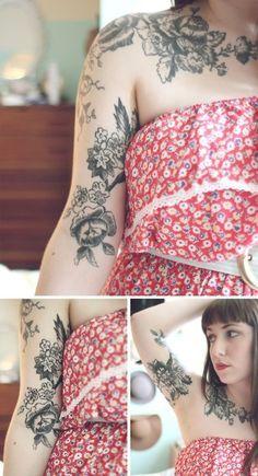 flower tattoo tattoos