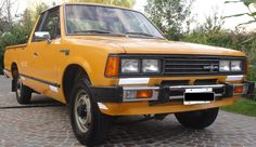 #Datsun Pick Up Space Cab 1981. http://www.arcar.org/datsun-pick-up-space-cab-76658