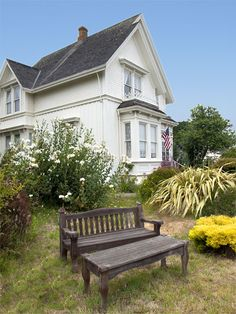 Jessica Fletcher's house (Mendocino, CA) - Was the home of Jessica Fletcher in the Murder She Wrote series