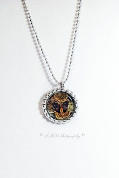 Steampunk Jewelry Black Butterfly With Gears by LMRPhotography2, $5.50