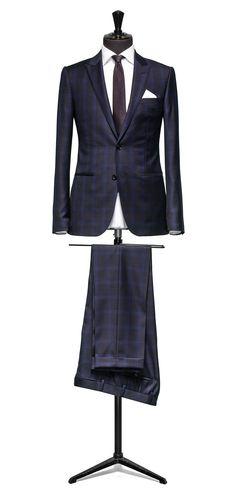 1000+ ideas about Blue Check Suit on Pinterest