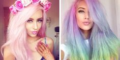 Pastel Hair Trend Has Young Women Dyeing Their Hair Vibrant Colors