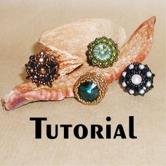 """TUTORIAL Focal Snap Clasps Volume 1   Mikki Ferrugiaro Designs  This set uses a size 4 snap which is 15mm and the finished snaps measure 3/4"""" or 20mm.  (1 of 2)"""