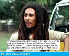 Funny pictures about Bob Marley's wise words. Oh, and cool pics about Bob Marley's wise words. Also, Bob Marley's wise words. Crush Memes, Great Quotes, Quotes To Live By, Inspirational Quotes, Awesome Quotes, Motivational, Life Quotes, Gorgeous Quotes, Clever Quotes