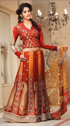 So beautiful! Pakistani and Indian Bridal Party Wear Sarees Collection 2013